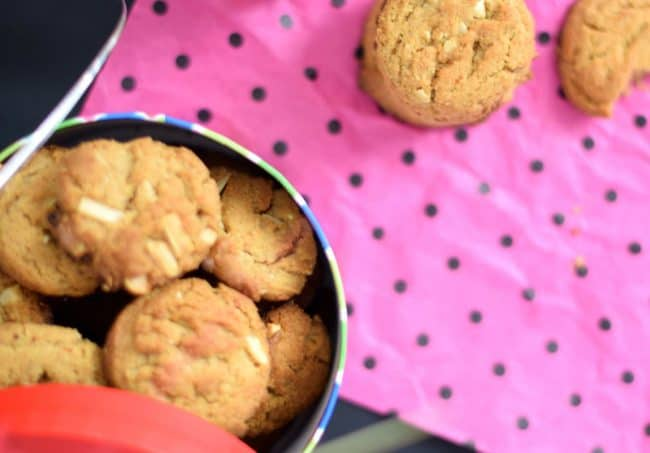 almond butter cookies your way thick
