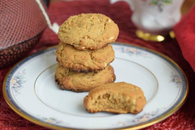 thick almond butter cookies your way
