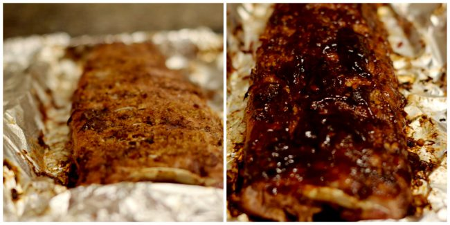 Preparing Easy Oven-baked Asian Baby Back Ribs