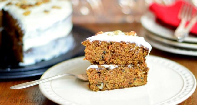 Super Moist Carrot Cake with Creamy Frosting