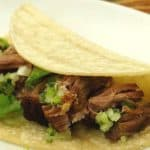 authentic homemade Mexican carnitas