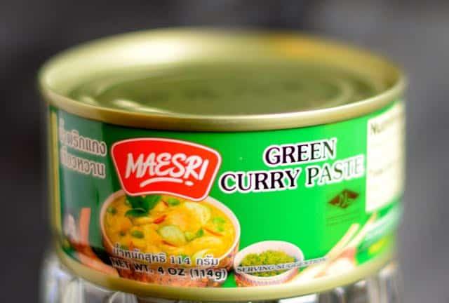 Maesri Thai curry paste