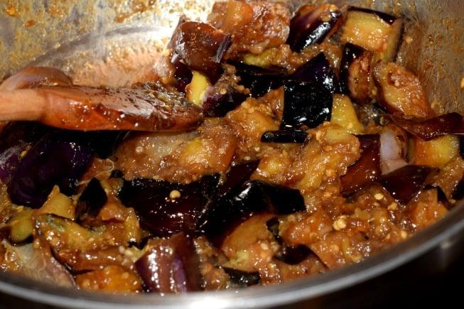 Eggplant Cornmeal Cake