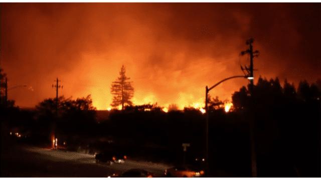 wild fire Santa Rosa
