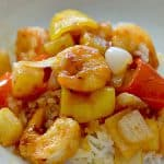spicy sweet and sour shrimp